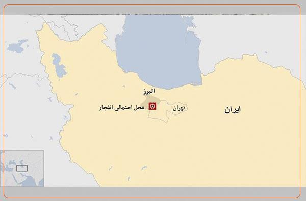 شنیده شدن صدای چندین انفجار شدید در مناطق گرم دره و شهر قدس در غرب تهران