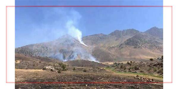 سومین روز متوالی توپباران مناطقی از ارتفاعات اقلیم کردستان توسط سپاه