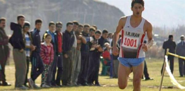 نایب قهرمان دو و میدانی آسیا کولبری می کند