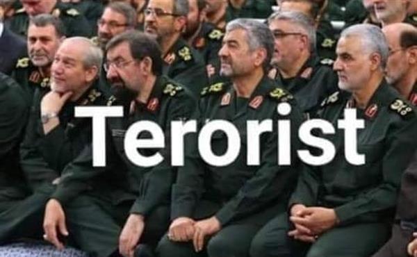 سپاه پاسداران رسما در فهرست گروهای تروریستی آمریکا قرار گرفت