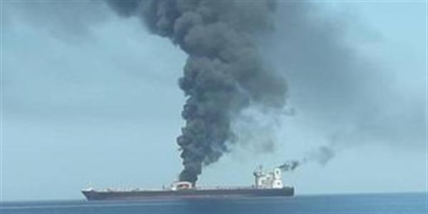 بریتانیا ایران را مسئول حمله به دو نفتکش در دریای عمان دانست