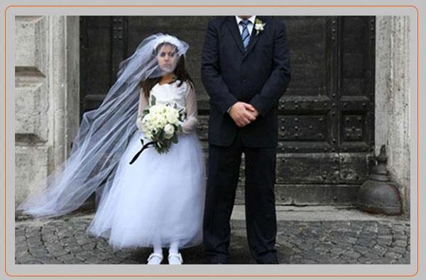 کودک همسری یا بردگی در جامعه ی ایدئولوژیک