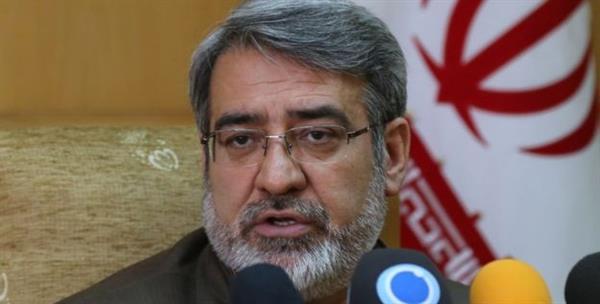 ادعای کذب وزیر کشور رژیم جمهوری اسلامی ایران مبنی بر کاهش اعتراض های عمومی