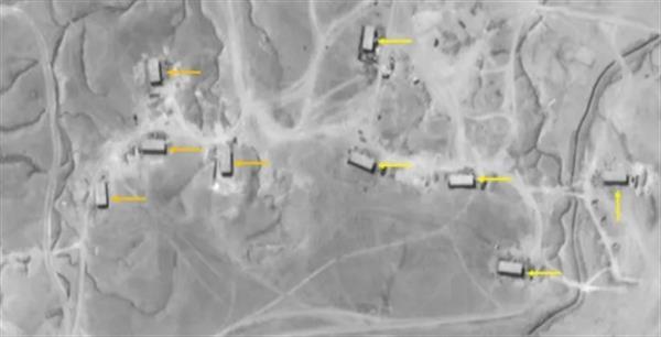 بمباران مجدد مواضع سپاه قدس در بوکمال