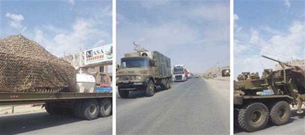 مستقر شدن واحدهایی از نیروهای مسلح ایران در منطقه اورامانات