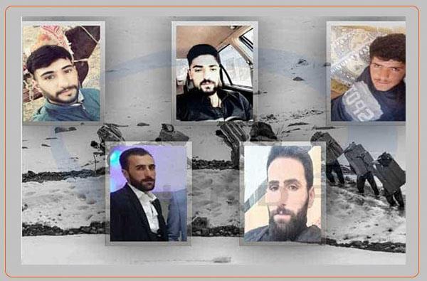 مرگ ٥ کولبر بر اثر ریزش بهمن در مناطق مرزی ارومیه