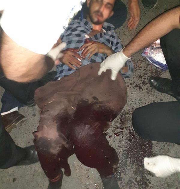 سنندج/ یک شهروند مدنی کورد به ظن حمل کالای قاچاق مورد هدف قرار گرفت و به شدت زخمی شد