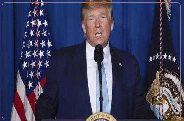 ترامپ: ایران داشت بر کل خاورمیانه مسلط می شد، اکنون برای بقا تلاش می کنند