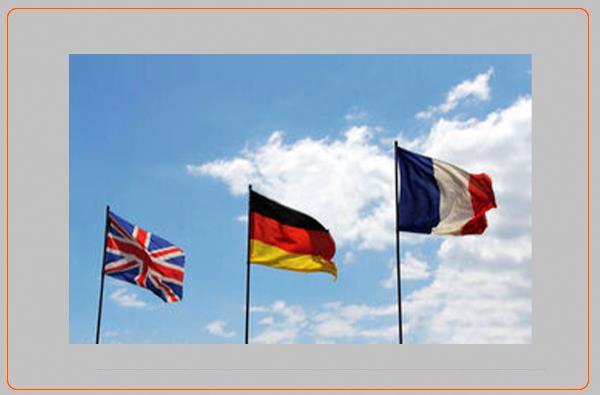 واکنش سه کشور اروپایی به ایران در پی عدول از توافق هسته ای