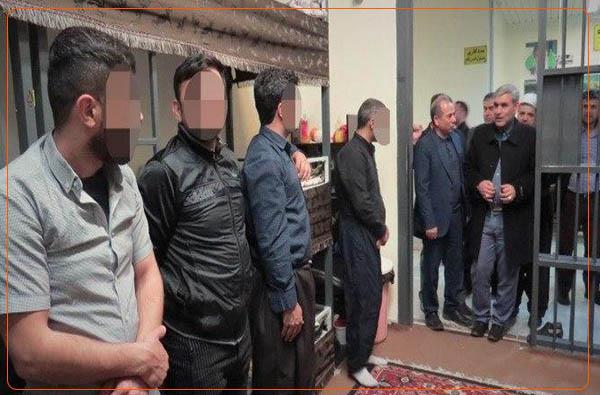 ضرب و شتم زندانیان در زندان بوکان