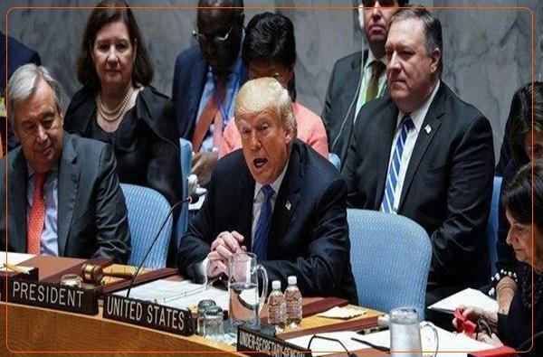 ارایه ی پیش نویس تحریم تسلیحاتی ایران به شورای امنیت از سوی آمریکا