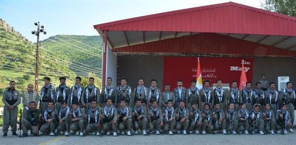 گزارشی اجمالی از برگزاری مراسم گرامیداشت روز جهانی کارگر و همزمان پیوستن جمعی دیگر از فرزندان انقلابی کردستان به صفوف مبارزاتی کومه له