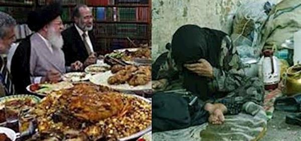 افلاس رژیم اسلامی و دست بردن بە سفرەی خالی مردم
