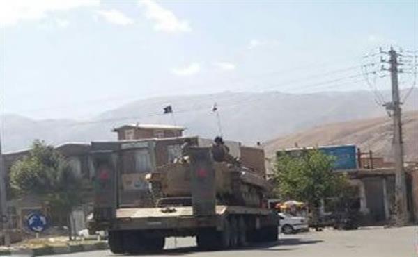 استقرار نیروهای مسلح رژیم ایران با سلاح های سنگین در نوار مرزی سردشت، سومار و قصر شیرین