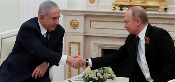 پوتین خواستار هماهنگی نظامی بیشتر میان روسیه و اسرائیل در باره ایران شد